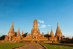 Sosta storica di Ayutthaya Immagini Stock Libere da Diritti