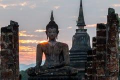 Sosta storica di Sukhothai Fotografia Stock