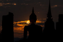 Sosta storica di Sukhothai Fotografie Stock