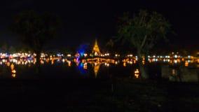 Sosta storica di Sukhothai Immagini Stock
