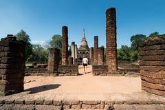 Sosta storica di Sukhothai Immagine Stock Libera da Diritti