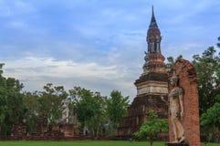 Sosta storica di Sukhothai, la vecchia città Fotografia Stock