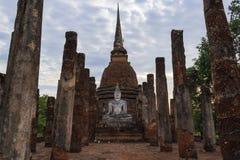 Sosta storica di Sukhothai, la vecchia città Fotografie Stock Libere da Diritti