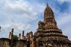 Sosta storica di Sukhothai, la vecchia città Fotografie Stock