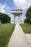 Sosta storica nazionale dell'arco della forgia commemorativa di Vally Fotografia Stock