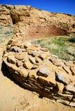 Sosta storica nazionale della coltura di Chaco Immagini Stock Libere da Diritti