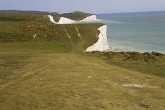 Sosta Sussex del paese delle sette sorelle Fotografia Stock Libera da Diritti