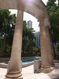 Sosta in tsui di sha del tsim orientale Fotografia Stock