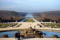 Sosta a Versailles Fotografia Stock