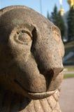 Soste e palazzi di Peterhof Fotografia Stock