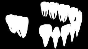 Sostegni dentari di animazione royalty illustrazione gratis