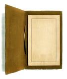 Sostenedor antiguo del certificado adentro Imagen de archivo libre de regalías