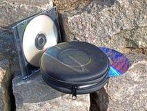 Sostenedor CD Fotografía de archivo