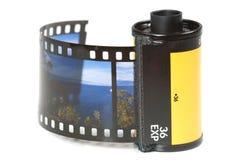 Sostenedor de la película Imagenes de archivo