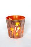 Sostenedor de vela decorativo Fotos de archivo libres de regalías