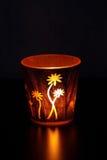 Sostenedor de vela decorativo Fotos de archivo