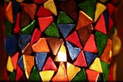 Sostenedor de vela decorativo Foto de archivo libre de regalías
