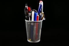 Sostenedor del lápiz Fotografía de archivo libre de regalías