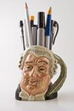 Sostenedor del lápiz Imagen de archivo libre de regalías