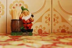 Sostenedor divertido de los toothpicks Imágenes de archivo libres de regalías