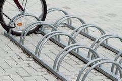 Sostenedor para las bicis Fotografía de archivo libre de regalías