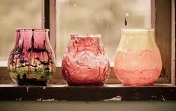 Sostenedores de vela Imagen de archivo libre de regalías