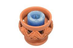 Sostenedores de vela de la cerámica Imagenes de archivo
