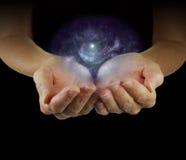 Sostener la galaxia Fotos de archivo