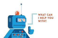 Robot di sostegno Immagine Stock Libera da Diritti