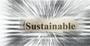 Sostenibile Immagini Stock