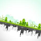 Sostenibilità di terra Fotografia Stock
