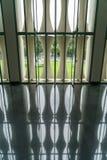 Sostenido de Windows del palacio de la independencia Fotografía de archivo libre de regalías