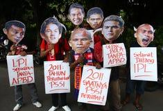 Sostenitore di calcio Immagini Stock Libere da Diritti