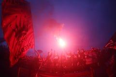 Sostenitore di calcio Fotografia Stock Libera da Diritti