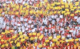 Sostenitore di calcio Fotografia Stock