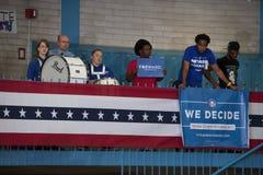 Sostenitori del supporto di presidente Obama Immagini Stock Libere da Diritti