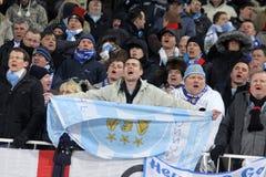 Sostenitori della città di FC Manchester Immagine Stock