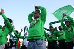 Sostenitori di calcio Fotografie Stock Libere da Diritti