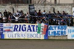 Sostenitori di Ebolitana Immagine Stock Libera da Diritti