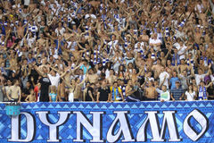 Sostenitori di Kyiv della dinamo di FC Fotografia Stock