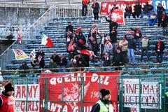 Sostenitori di Perugia Immagini Stock