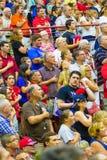 Sostenitori di Trump a raduno Immagini Stock