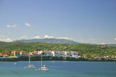 Sosua-Bucht, Sosua, Dominikanische Republik Lizenzfreie Stockbilder