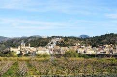 Sot de Ferrer, Castellon, España Foto de archivo libre de regalías