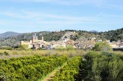 Sot de Ferrer, Castellon, Spanien Lizenzfreie Stockfotografie