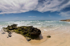Sotavento beach. On the Fuerteventura island Royalty Free Stock Photography