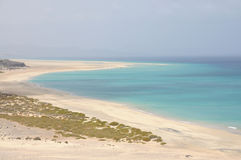 Sotavento beach, Fuerteventura Stock Photos