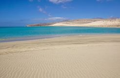 Canary Islands, Spain Sotavento Beach in Fuerteventura,. Sotavento Beach in Fuerteventura Canary Islands, Spain stock images