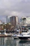 Sotchi, construction élevée dans les zones côtières photos stock