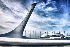 Sotchi olympique photographie stock